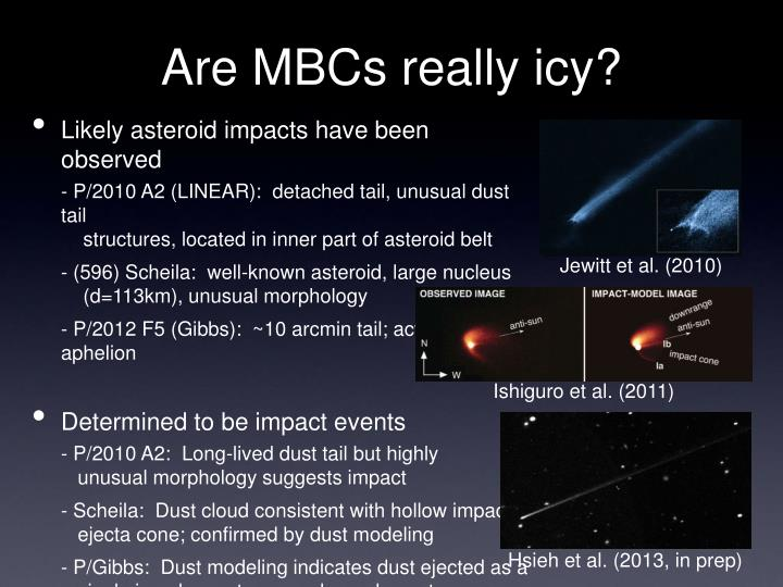 Are MBCs really icy?