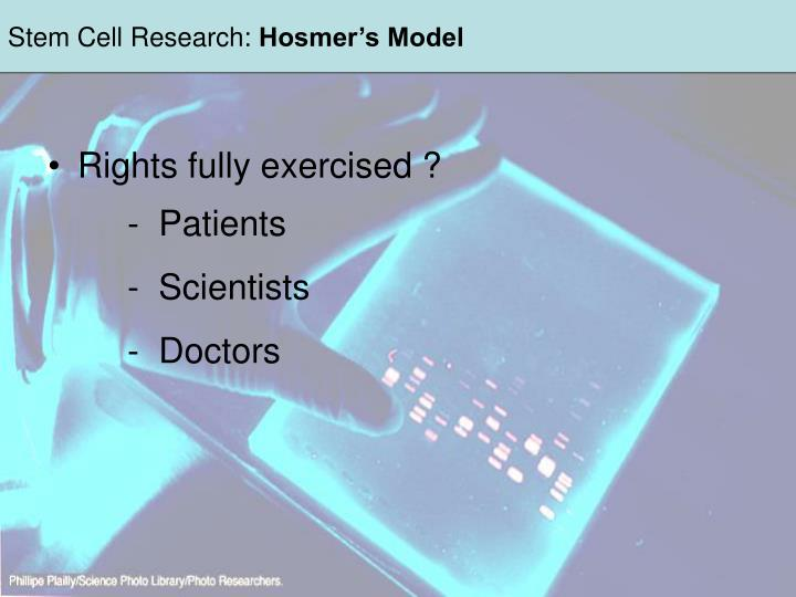 Stem Cell Research: