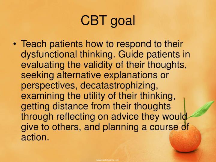 CBT goal