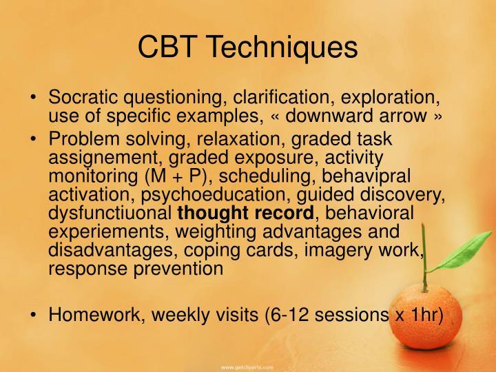 CBT Techniques