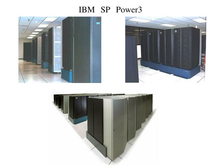 IBM SP Power3
