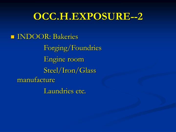 OCC.H.EXPOSURE--2