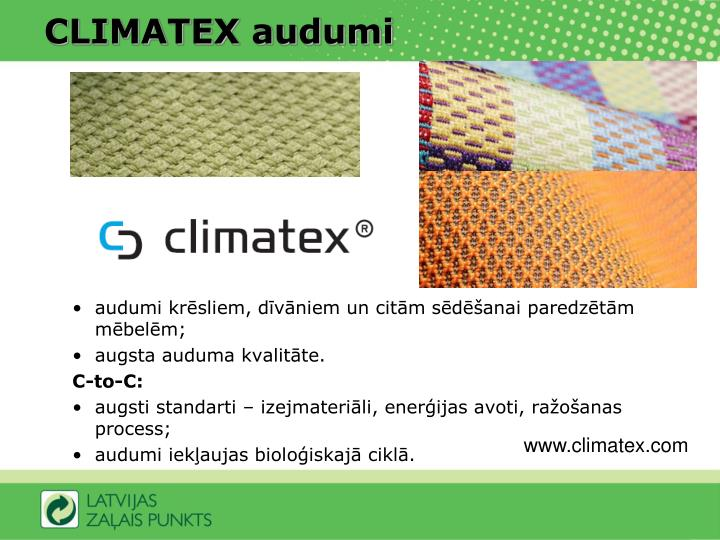 CLIMATEX audumi