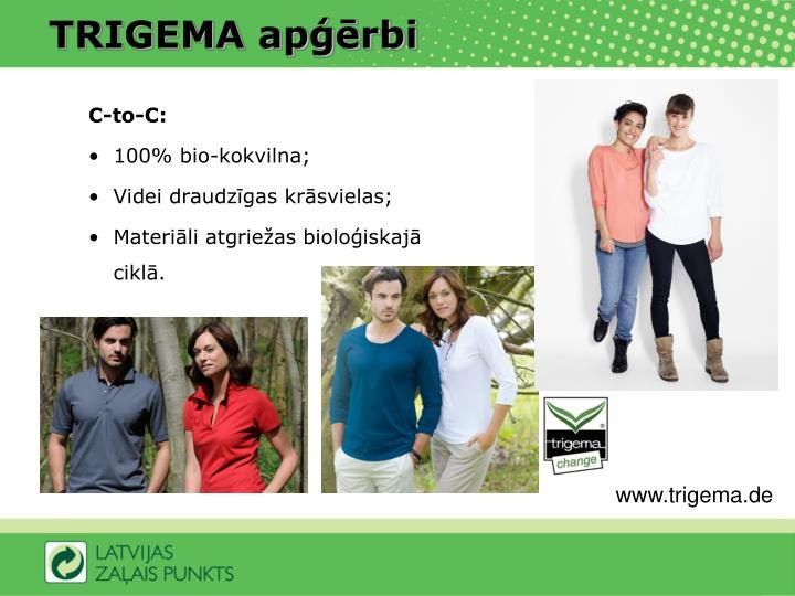 TRIGEMA apģērbi