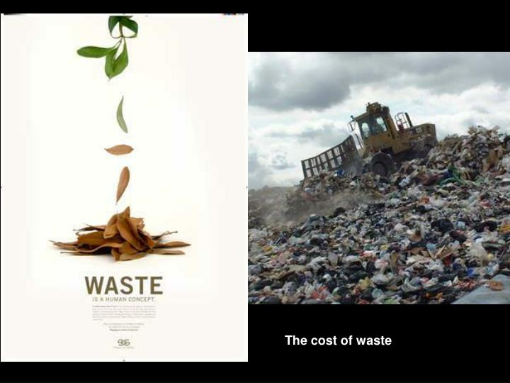 The cost of waste