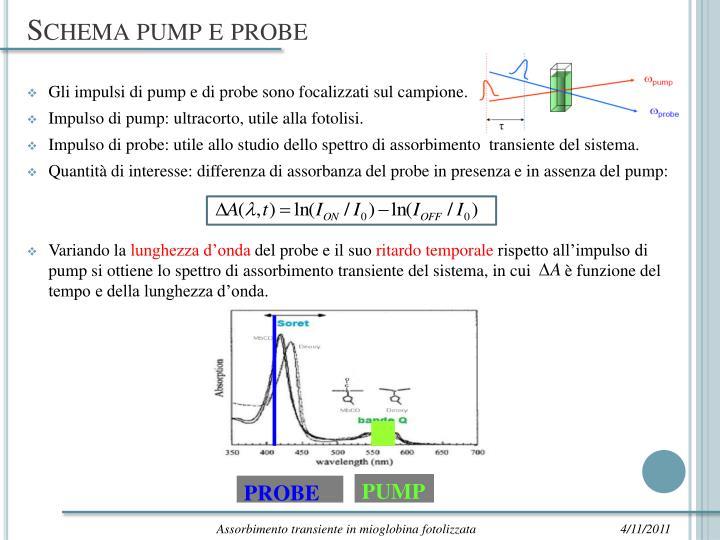 Schema pump e probe