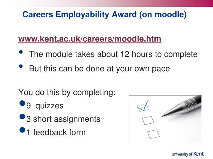 Careers Employability Award (on