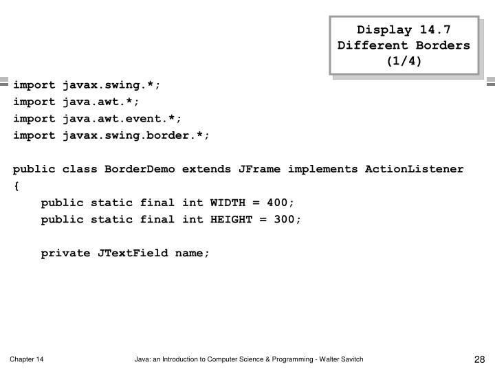 Display 14.7