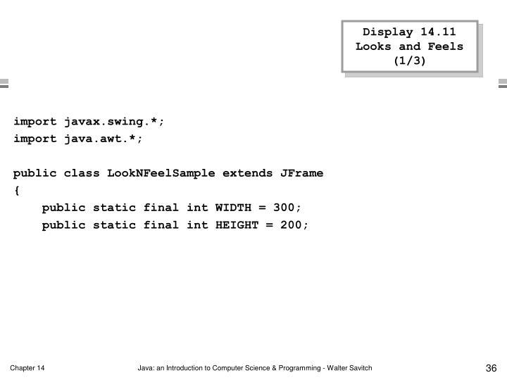 Display 14.11