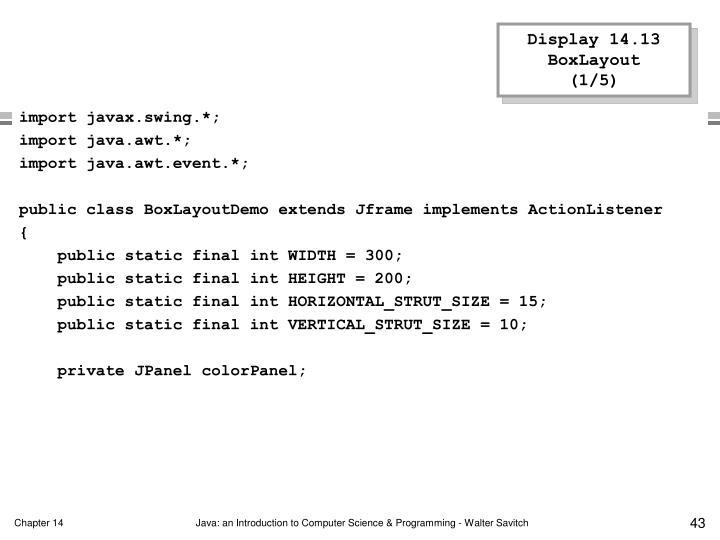 Display 14.13