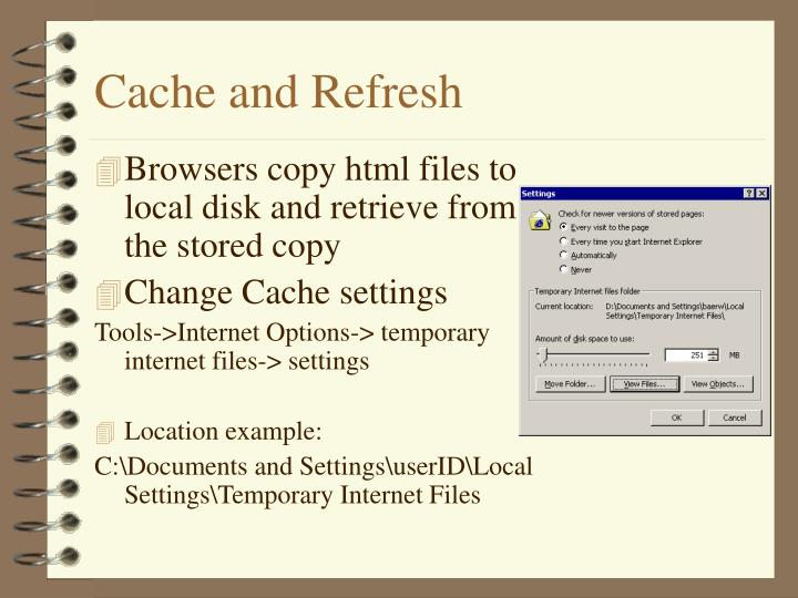 Cache and Refresh