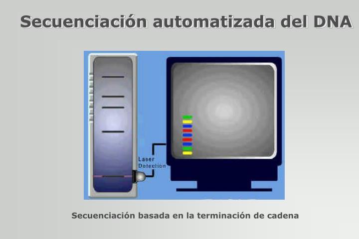 Secuenciación automatizada del DNA