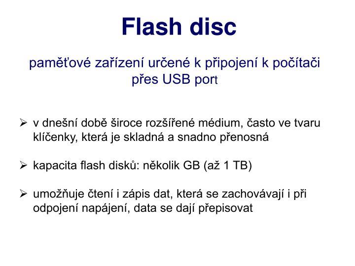 Flash disc