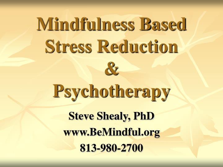 Mindfulness Based