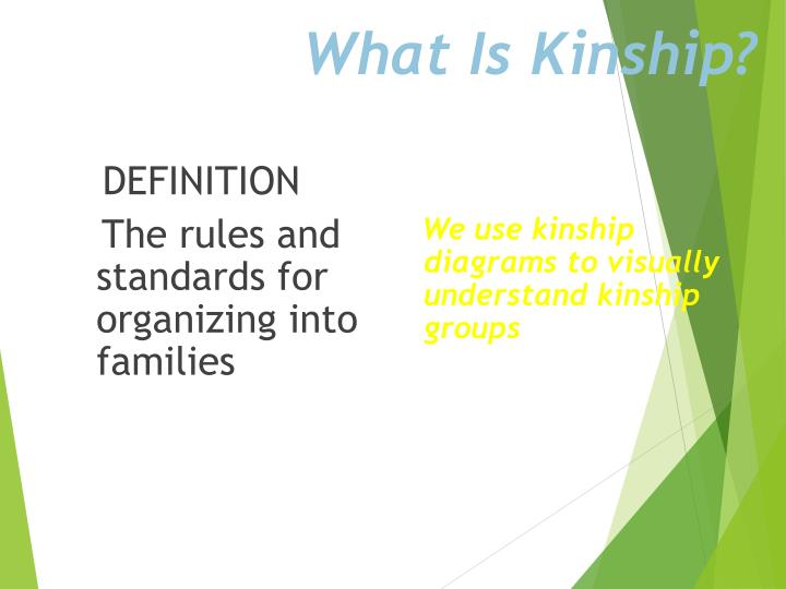 What Is Kinship?