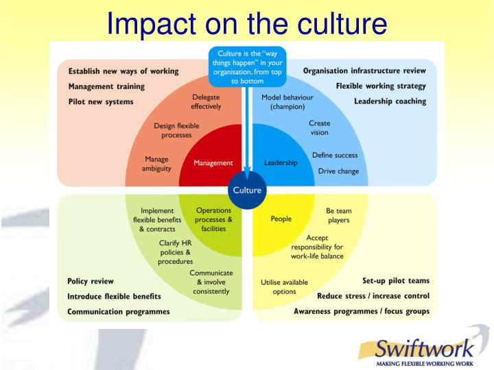 Impact on the culture