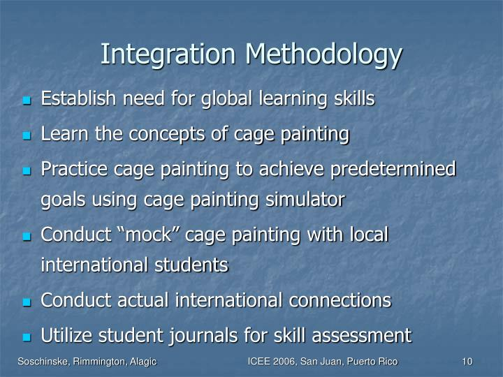Integration Methodology