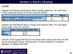 absolute vs relative advantage3