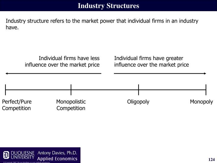 Industry Structures