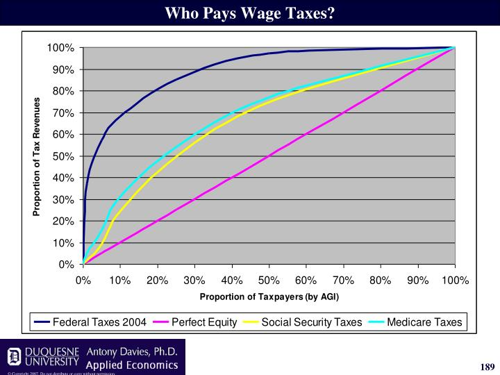 Who Pays Wage Taxes?