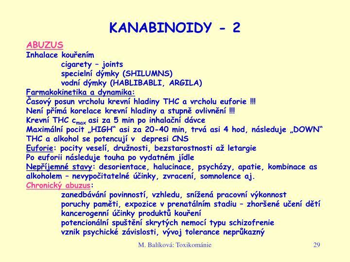 KANABINOIDY - 2