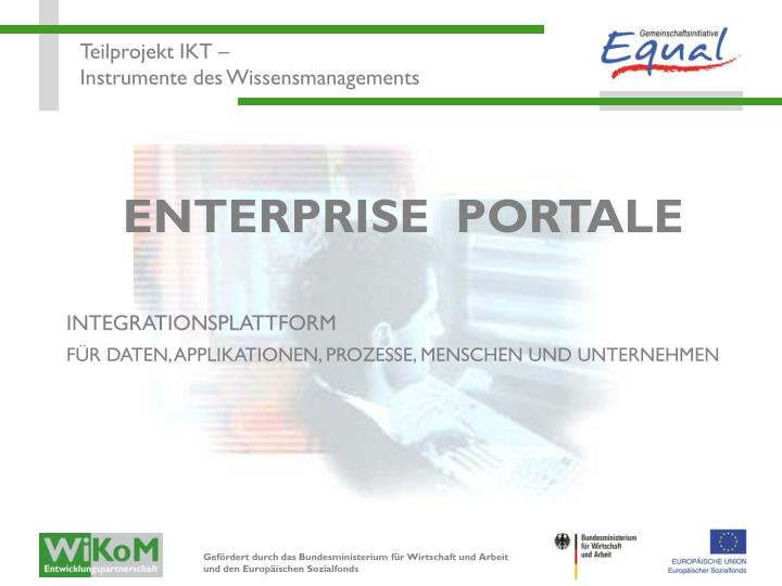 ENTERPRISE  PORTALE