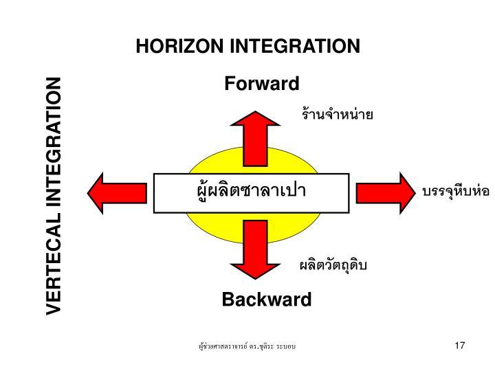HORIZON INTEGRATION