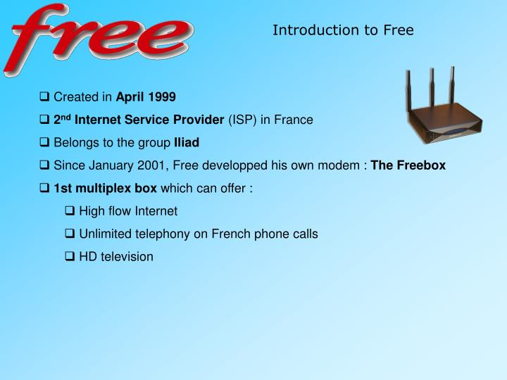 Introduction to Free