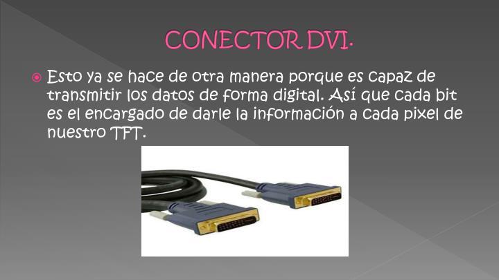 CONECTOR DVI.