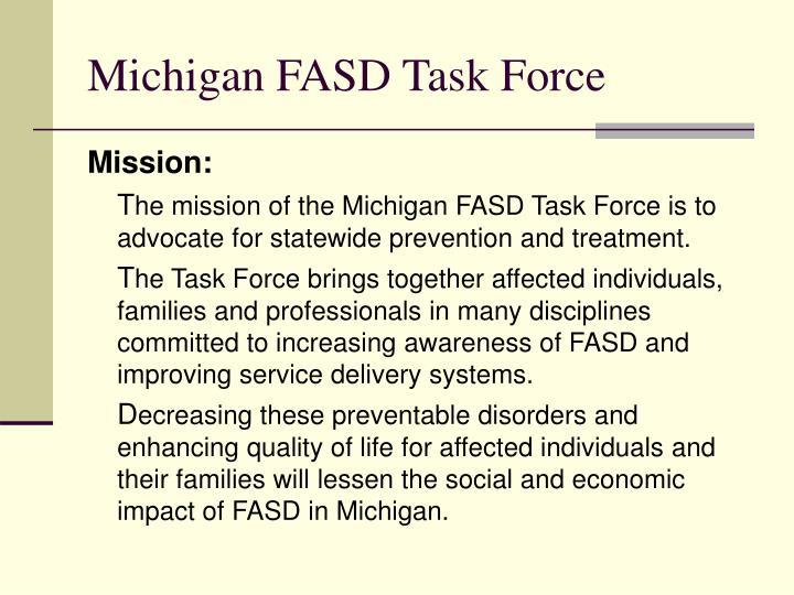 Michigan FASD Task Force