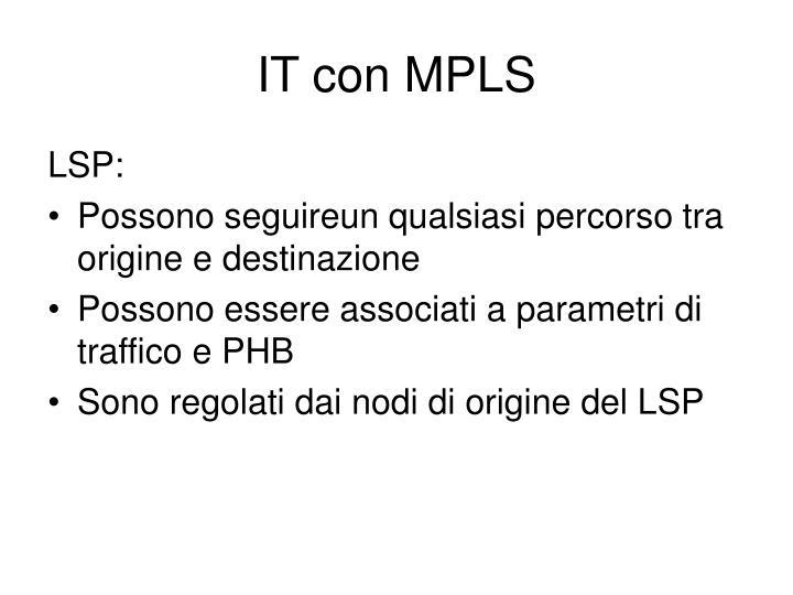 IT con MPLS