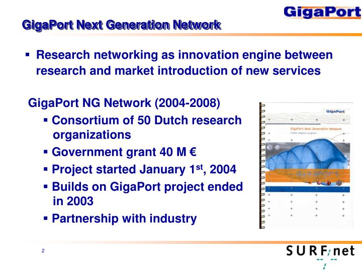 GigaPort Next Generation Network