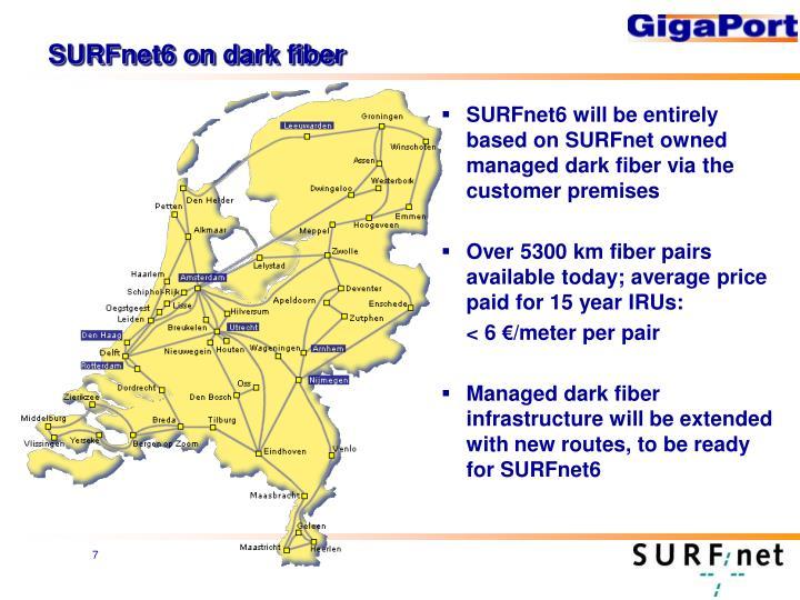 SURFnet6 on dark fiber