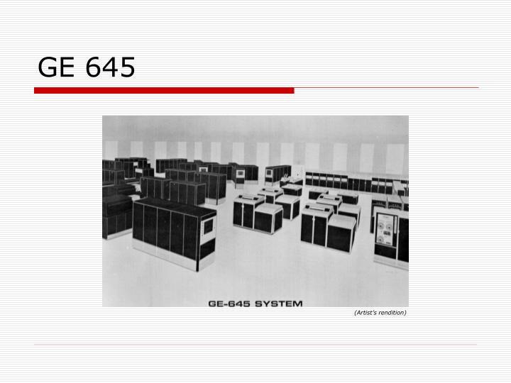 GE 645