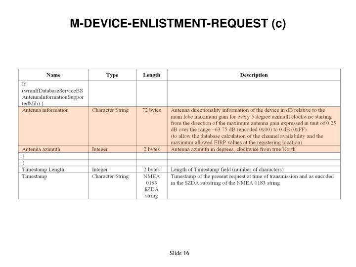 M-DEVICE-ENLISTMENT-REQUEST (c)