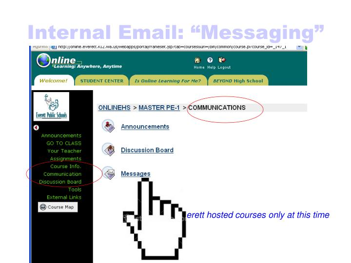 "Internal Email: ""Messaging"""