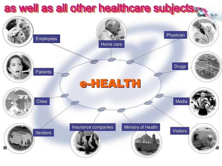 as well as all other healthcare subjects.