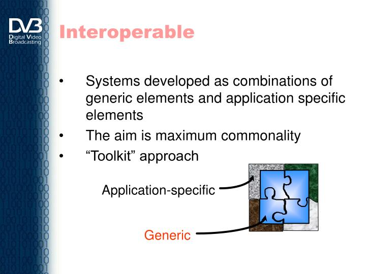 Interoperable