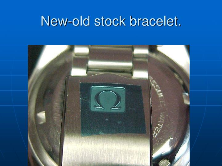 New-old stock bracelet.