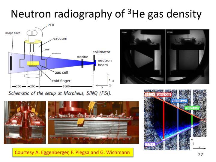 Neutron radiography of