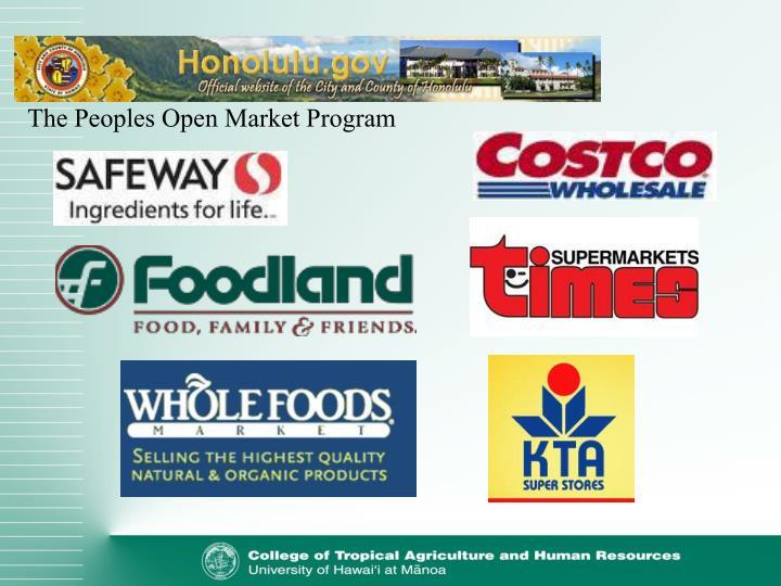 The Peoples Open Market Program