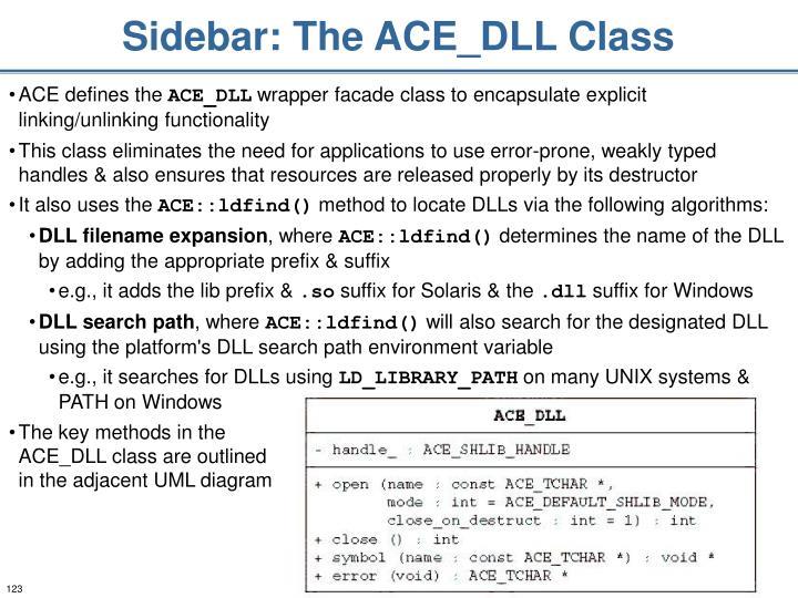 Sidebar: The ACE_DLL Class