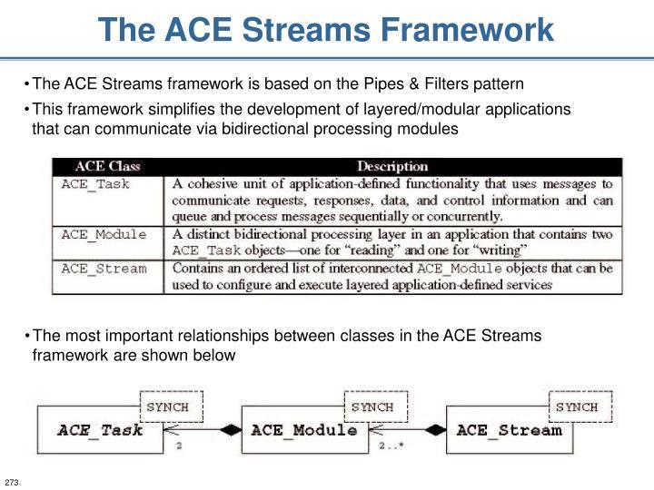 The ACE Streams Framework