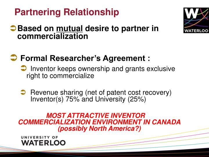 Partnering Relationship