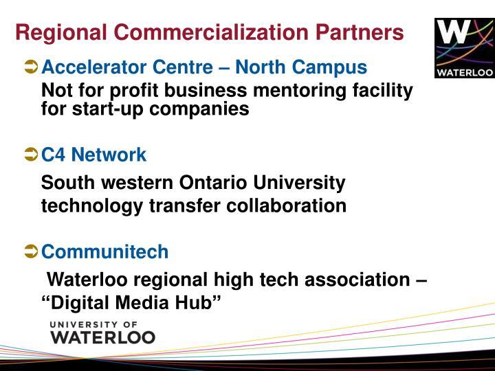 Regional Commercialization Partners