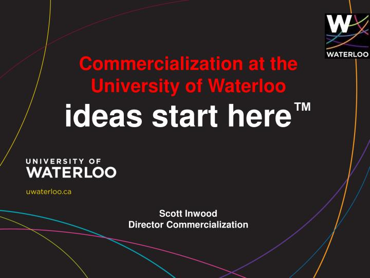 Commercialization at the