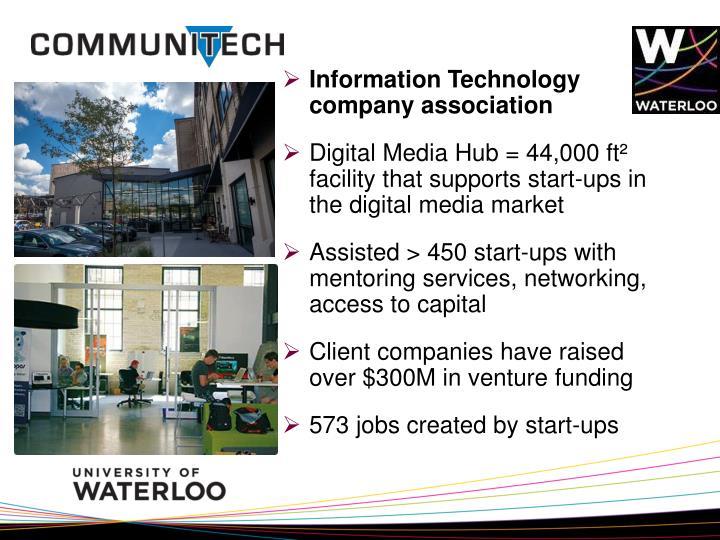 Information Technology company association