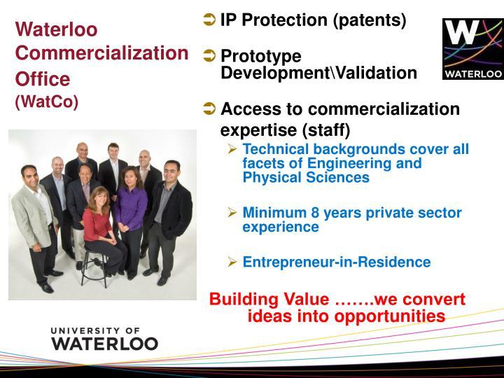Waterloo Commercialization Office