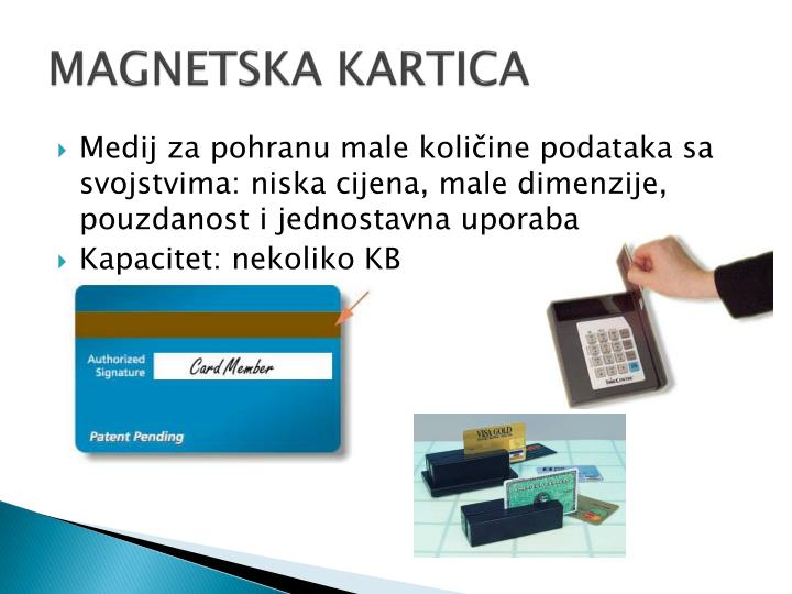 MAGNETSKA KARTICA