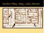 sanborn map 1890 lodo denver